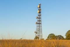 Torre de radio en Queensland Imágenes de archivo libres de regalías