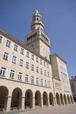 Torre de Ratusz en Opole Polonia fotografía de archivo libre de regalías