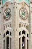 Torre de reloj 3 Fotos de archivo libres de regalías