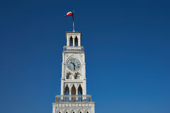 Torre de reloj Imagen de archivo libre de regalías