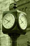 Torre de reloj al aire libre imágenes de archivo libres de regalías
