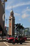 Torre de reloj alta Fotos de archivo libres de regalías