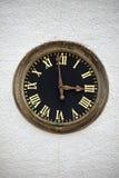 Torre de reloj antigua fotografía de archivo libre de regalías