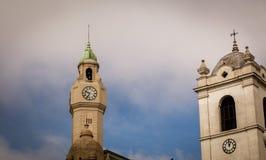 Torre de reloj Buenos Aires foto de archivo libre de regalías