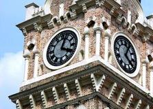 Torre de reloj clásica Foto de archivo libre de regalías