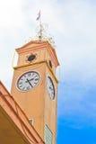 Torre de reloj conmemorativa Imagen de archivo libre de regalías