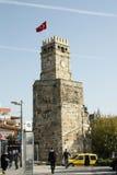 Torre de reloj de Antalya Foto de archivo