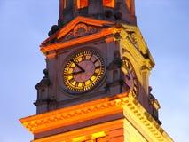 Torre de reloj de Auckland 1 Imagenes de archivo