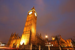 Torre de reloj de Ben grande Imagen de archivo libre de regalías