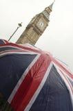 Torre de reloj de Ben grande en Londres Foto de archivo libre de regalías