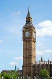 Torre de reloj de ben grande Londres Inglaterra Imagen de archivo libre de regalías