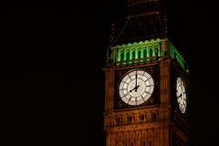 Torre de reloj de Big Ben Foto de archivo libre de regalías
