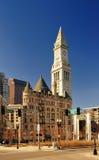 Torre de reloj de Boston, mA fotos de archivo