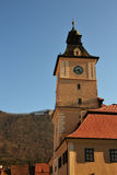 Torre de reloj de Brasov Foto de archivo libre de regalías