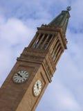 Torre de reloj de Brisbane 2 Foto de archivo libre de regalías