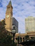 Torre de reloj de Brisbane Foto de archivo libre de regalías