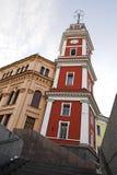 Torre de reloj de Dumskaya Imágenes de archivo libres de regalías