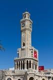 Torre de reloj de Esmirna Fotos de archivo libres de regalías