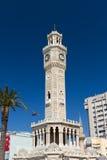 Torre de reloj de Esmirna Imágenes de archivo libres de regalías