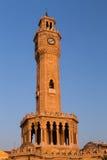Torre de reloj de Esmirna Foto de archivo libre de regalías