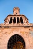 Torre de reloj de Esmirna Fotos de archivo