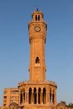 Torre de reloj de Esmirna Foto de archivo
