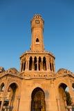 Torre de reloj de Esmirna Imagen de archivo libre de regalías