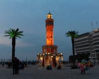 Torre de reloj de Esmirna Fotografía de archivo