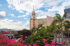 Torre de reloj de Hong-Kong Foto de archivo libre de regalías