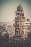 Torre de reloj de Jodhpur foto de archivo libre de regalías