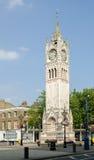 Torre de reloj de la ciudad de Gravesend Imágenes de archivo libres de regalías