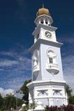 Torre de reloj de la herencia de Georgetown Imagen de archivo