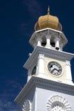Torre de reloj de la herencia de Georgetown Fotografía de archivo