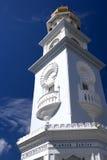Torre de reloj de la herencia de Georgetown Imagenes de archivo