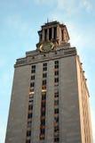 Torre de reloj de la Universidad de Texas Imagen de archivo