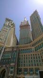 Torre de reloj de Makkah Fotos de archivo libres de regalías