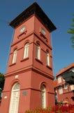 Torre de reloj de Malacca Fotos de archivo