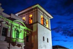 Torre de reloj de Popayan Fotografía de archivo libre de regalías
