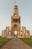 Torre de reloj de Riffa, Bahrein Imagenes de archivo
