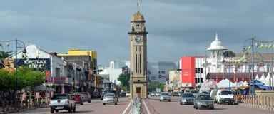 Torre de reloj de Sungai Petani imagen de archivo libre de regalías