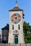 Torre de reloj de Zimmer, Lier, Bélgica Foto de archivo