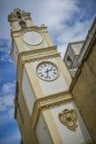Torre de reloj del gallipoli Italia Foto de archivo libre de regalías