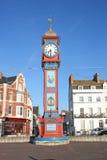 Torre de reloj del jubileo. Fotos de archivo libres de regalías