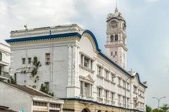 Torre de reloj del jubileo, en George Town, Penang, Malasia Fotos de archivo