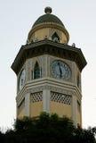 Torre de reloj del Moorish en Ecuador Imagenes de archivo
