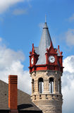 Torre de reloj del Victorian imágenes de archivo libres de regalías