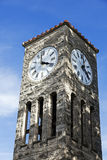 Torre de reloj en Atlanta Foto de archivo
