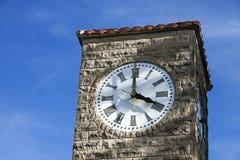 Torre de reloj en Atlanta Fotos de archivo libres de regalías