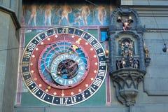 Torre de reloj en Berna fotografía de archivo libre de regalías