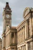 Torre de reloj en el museo de Birmingham Fotos de archivo libres de regalías